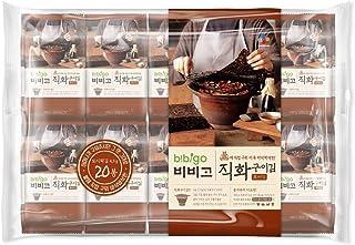 Bibigo Direktfeuer gebackener Seetang (Nori) Snack 4,5 g ×