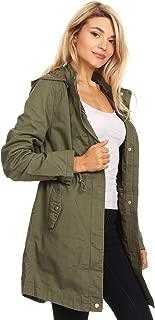 Ambiance Women's Cargo Hoodie Jacket