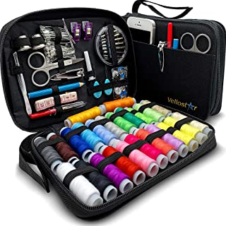 Sewing KIT Premium Repair Set - Sewing Kits for Adults with Over 100 Supplies & 24-Color Threads - a Needle & Thread Kit f...
