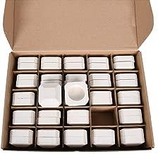 GasSaf Ceramic Briquettes Replacement for Lynx L27, L30, CS30 Gas Grill, Set of 48+2 briquettes