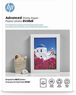 HP Advanced Photo Paper | Glossy | 5x7 | 60 Sheets