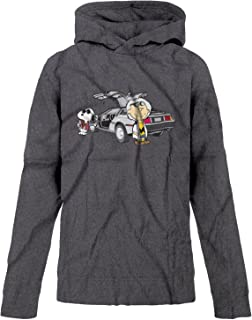 Youth Boys Back to The Future Charlie Brown Snoopy Hoodie