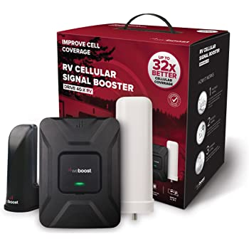 weBoost Drive 4G-X RV (470410) Cell Phone Signal Booster for Your RV or Motorhome