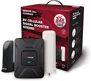 weBoost Drive 4G-X RV (470410) Cell Phone Signal Booster for Your RV or Motorhome –..