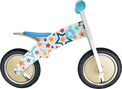 EnfantDY MOTO KMKST Draisienne Mixte Enfant, Stars