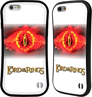 Official The Lord of The Rings: The Two Towers Eye of Sauron Character Art Hybrid Case Compatible for iPhone 6 / iPhone 6s