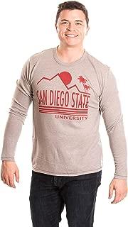 NCAA Men's Long Sleeve T-Shirt, San Diego State Aztecs, X-Large
