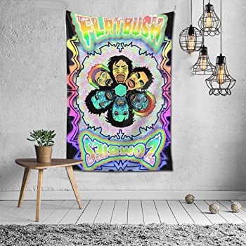 Zombie Tapestry Wall Hanging Decoration for Room 2 Sizes Available