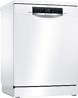 Lave vaisselle Bosch SMS68MW05E - Lave vaisselle 60 cm - Classe A+++ / 40 decibels - 14 couverts - Blanc bandeau : Noir - ...