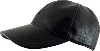 Adjustable Genuine Leather Baseball Cap