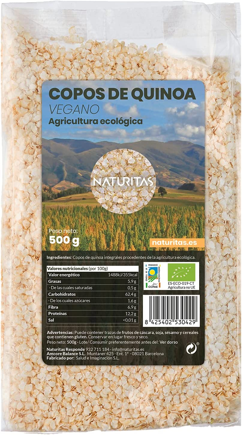 Copos de Quinoa Bio 500gr
