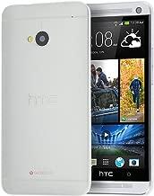 doupi UltraSlim Funda para HTC One (M7), Finamente Estera Ligero Estuche Protección, Blanco