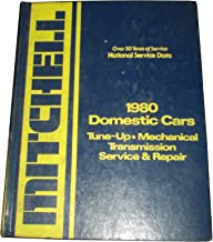 1980 Domestic Cars: Tune-Up- Mechanical Transmission Service & Repair (Mitchell Manuals 1980 National Service Data)
