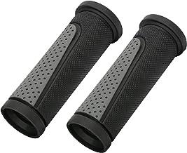 TOPCABIN Puños cortos para manillar de bicicleta, tamaño pequeño, para muchas bicicletas estándar, 2 unidades, 90 mm de longitud