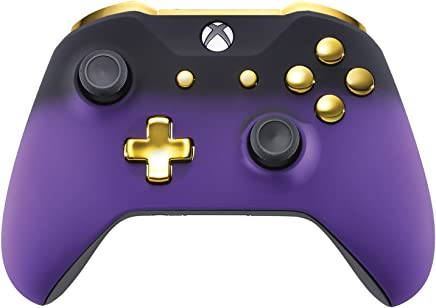 Controller Xbox One 自动 黑色 Purple Shadow & Gold
