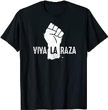 Retro Chicano Power VIVA LA RAZA grunge style t-shirt