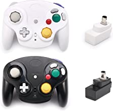 $36 Get Poulep Classic 2.4G Wireless Controllers Gamepad with Receiver Adapter for Wii U Gamecube NGC GC (Black and White)
