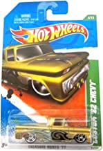 Hot Wheels Custom '62 Chevy '11 Treasure Hunts 54/244 (Gold
