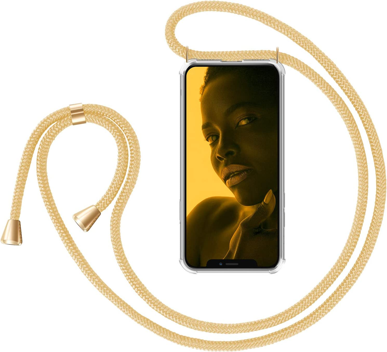ZhinkArts Smartphone Necklace Case Apple iPhone with Compatible Spring new Fees free!! work