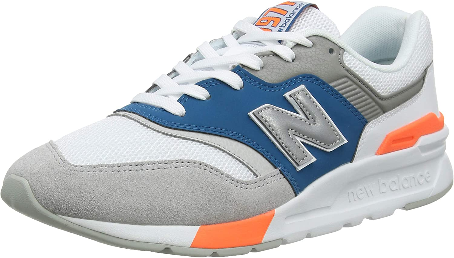 New Balance Men's 997 Suede Trainers, White