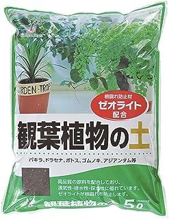 グリーンプラン 培養土 観葉植物の土5L 541