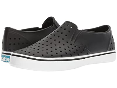 Native Shoes Miles (Jiffy Black/Shell White) Athletic Shoes