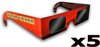 19328f024b Gafas de Eclipse Solar (Paquete de 5)