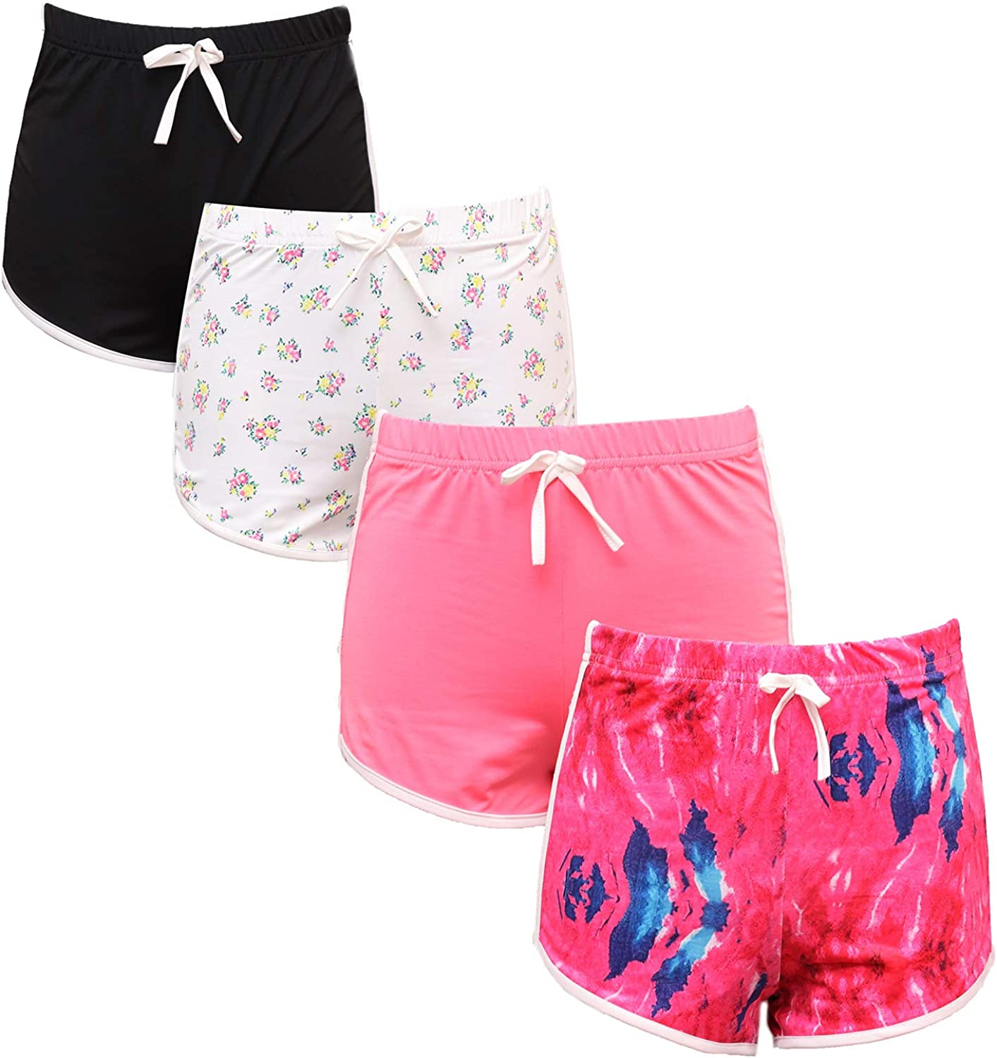 It is very popular Popularity 4PCS Girl Shorts Casual Fashion Dolphin Sh Workout