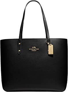Pebbled Leather Town Tote