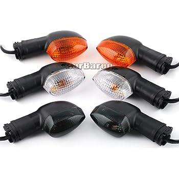 Naranja Gazechimp 1par LED Luz de Se/ñal de Motocicleta Bombilla de Indicador de Intermitente Ajuste para Yamaha YZF R1 R6 FZ1 FZ6
