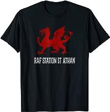 RAF Station St Athan, Wales - Welsh Flag Cymru T-shirt