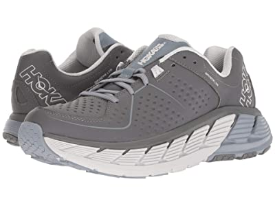 Hoka One One Gaviota Leather (Charcoal/Tradewinds) Men
