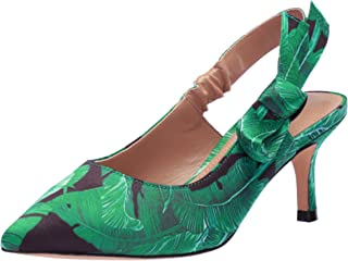 The Fix Amazon Brand Women's Fatina Kitten Heel Slingback Pump