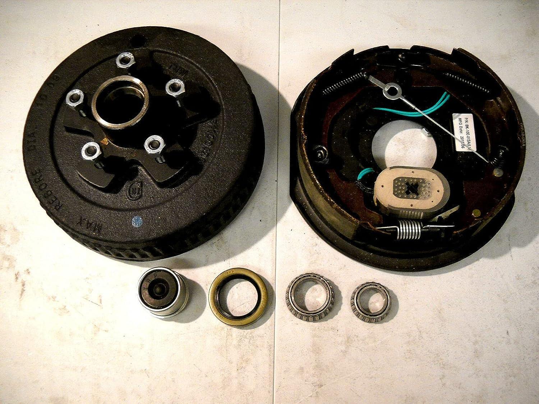 3500# Trailer Brake kit 5x4.5 Pl Popularity Adjusting Self Long-awaited Backing Electric