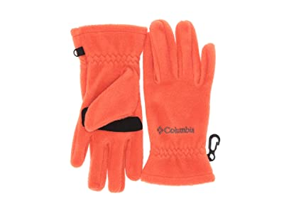 Columbia Kids Thermaratortm Glove (Big Kids) (State Orange) Extreme Cold Weather Gloves
