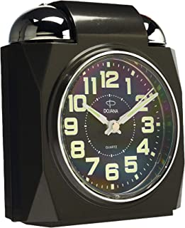 Alarm Clock by Dojana,Dblue-white,DAG322