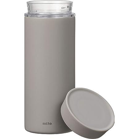シービージャパン 水筒 グレー 食洗機対応 350ml 直飲み ステンレス ボトル 真空 断熱 EL ボトル Mlte