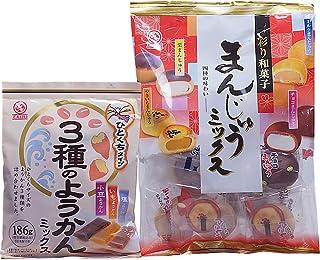 Mixed Yokan & Manju set Assorted Japanese Sweets Wagashi (1 set)