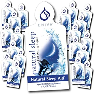 20 Packets of Natural Sleep Travel Single Serve Natural Sleep Aid, Feel Great in The Morning