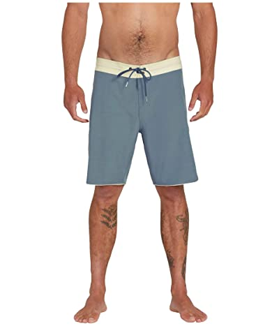 Volcom Barnacle Stoney 19 Boardshorts (Blue Storm) Men