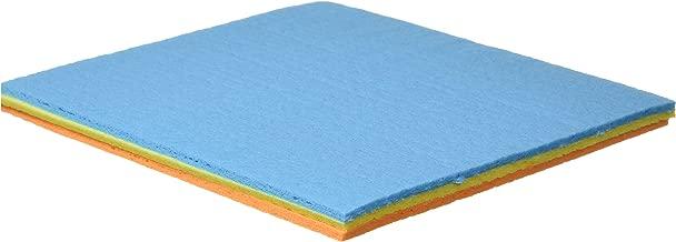 Spotzero by Milton General Cleaning Sponge Microfibre Wipe (Multicolour, 3-Pieces)