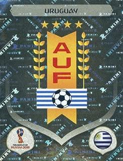 2018 Panini World Cup Stickers Russia #92 Team Logo Uruguay Futbol Soccer Sticker