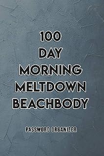 100 day morning meltdown beachbody Essential Internet ID Password Keeper Address Logbook Passkey Record Journal Notebook O...