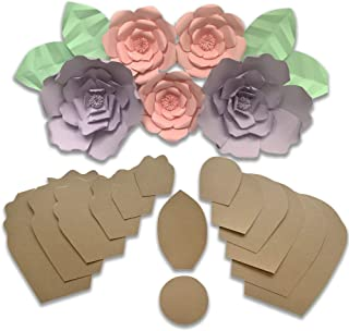 Best large paper rose template free Reviews