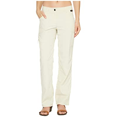 Jack Wolfskin Marrakech Roll-Up Pants (White Sand) Women