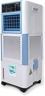 Clikon - 18 Liter Floor Air Cooler with Remote, Anion Function, 4x Air Inlets with Cooling Pad, Led Display, Timer & Swing...