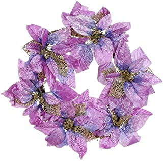 ZYUEER Lot de 6CM Boules de No/ël pour D/écoration Sapin diverses Colour au Choix 6CM 6Pcs Violet
