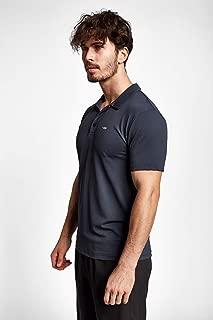 Lescon 19S-1275-19B Gri Erkek Kısa Kollu Polo Yaka Tişört Polo Tişört Erkek