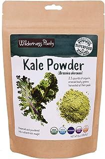 Wilderness Poets, Organic Kale Powder (8 Ounce - Half Pound)