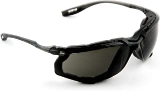 3M Safety Glasses, Virtua CCS, 1 Pair, ANSI Z87, Anti-Fog, Gray Lens, Black Frame, Corded..